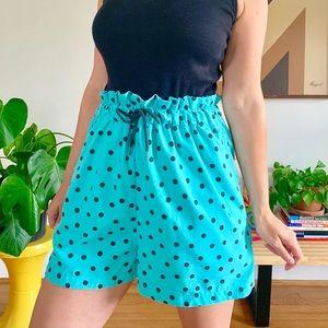 Vintage Pants - Vintage 1980s polka dot romper Stranger Things S
